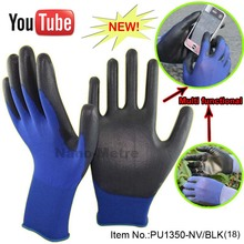 NMSafety Blue Nylon Anti Static Antiskid Glove ESD Electronic Working very soft