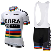 New 2017 white Champion Bora cycling jersey bike short MTB Ropa Ciclismo PRO cycling WEAR mens BICYCLING Maillot Culotte