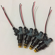 4pcs High performance 1600CC CNG 160lbs gas fuel injector with ev1 plugs 0280150842 0280 150 842 for mazda ford honda racing