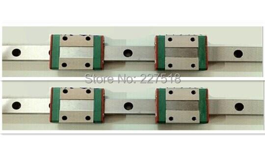 2pcs MGN12  L200mm linear rail  + 4pcs MGN12C <br>