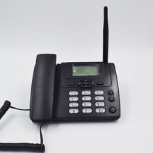 GSM 900/1800MHz Support SIM Card Fixed Phone With FM Radio Call ID Handfree Landline Phone Fixed Wireless Telephone Home Black(China)