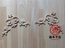 Do not forget to log in Dongyang wood wood trim bedside drawer Window Decal European Style Fireplace c.flower gun angle