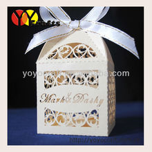 50pcs/ Lot cheap wedding favor box in china free shipping cake boxes for wedding