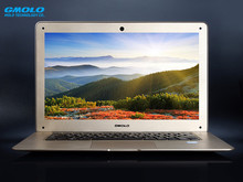 GMOLO  14inch ultrabook laptop notebook computer 4GB DDR3 500GB mixed SSD J1900 WIFI HDMI webcam