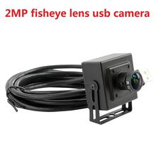 2MP H.264 webcam 170degree wide angle M12 fisheye lens usb camera with 1080P HD resolution for desktop,laptop ,free shipping