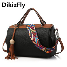 DikizFly Brand New fashion handbag Messenger bags women shoulder bag Boston Totes designer handbags Pillow Crossbody bags bolsa
