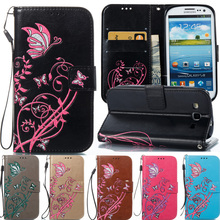 wallet leather cases for housing samsung galaxy s2 i9100 Case flip cover for samsung S2 i9100 4.3 inch Phone Cases Cover Capa