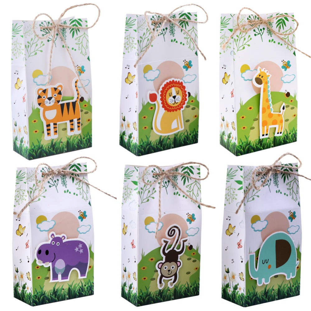 Zoo Animal favor boxes (30)