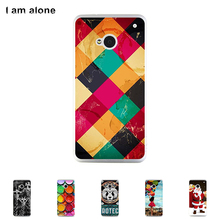 FOR HTC One M7 Dual Sim 802d 802t 802w Hard Plastic Case Mobile Phone Cover Bag Cellphone Housing Shell Skin Mask DIY Custom Sup