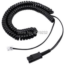 Headset QD cord with RJ9 plug for CISCO 6921, 6941, 6945, 6961,7940, 7941,7960,7961,7985,8941,8945,8961,9951 & 9971,etc  phones