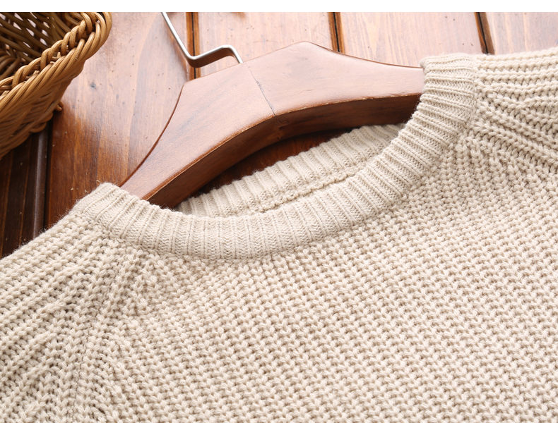 3Color Winter Men Pullover Sweaters Warm Thick Sweater Men Autumn Knited Male Pullover Jumper Navy Red Khaki Brand Muls M-4XL-12