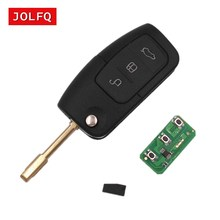 for FORD C Max S Max Focus Mondeo Fiesta KUGA Galaxy 3 Buttons 433MHz with 4D60/4D63 Chip Keyless Entry Fob Car Alarm Remote Key(China)