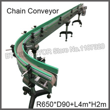 Food Packing Plastic Chain Plate Conveyor Line, Modular Conveyor Belts, Stainless Steel Conveyor(China)