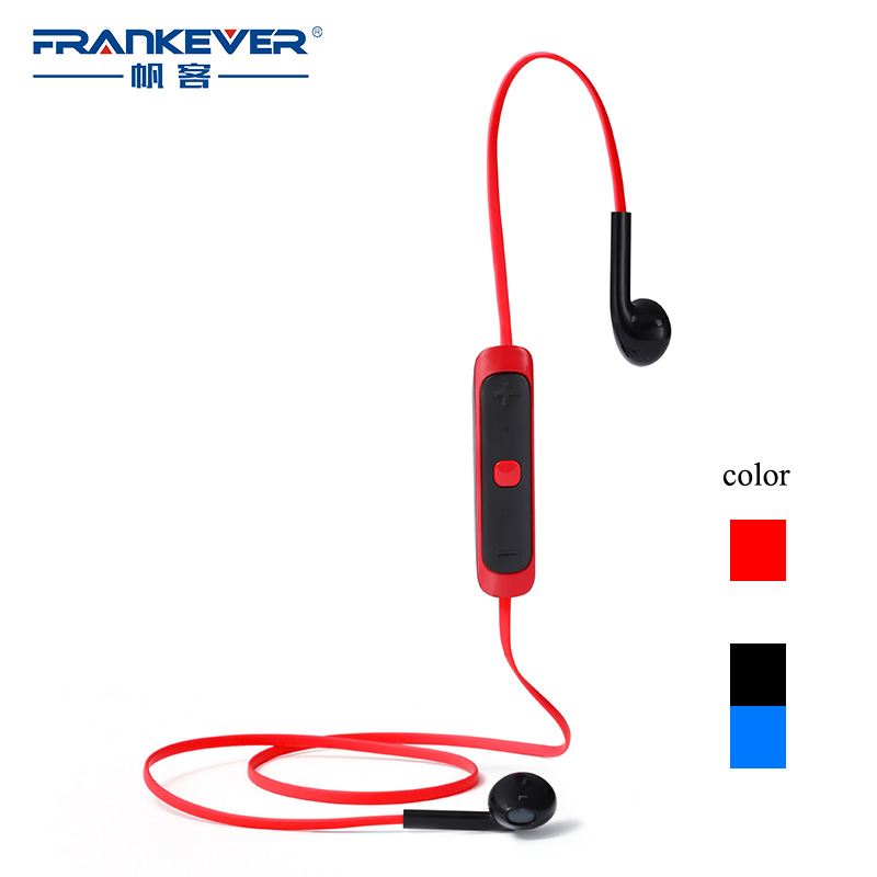 Bluetooth 4.1 Stereo Earphone Sport Wireless Earphones Flat Cable  New Original for iPhone Samsung<br><br>Aliexpress