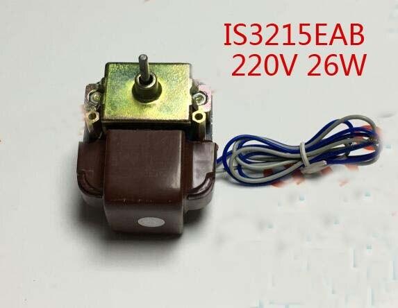 220V 26W Freezer parts refrigerator radiator motor IS3215EAB<br>