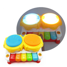 Hot Baby Plastic Music Toys story Piano Toy Hand Drum Kids Educational Toys Child Christmas Gift/baby toys for children