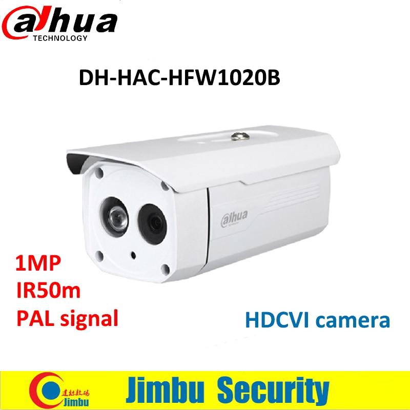 Dahua 1MP 720P HDCVI camera HAC-HFW1020B Water-proof IR 50M Bullet Camera Security CCTV Camera DH-HAC-HFW1020B<br>