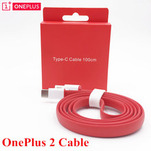 Original Oneplus 2 Charger Data Cable 2A USB to Type-C Official 100cm Flash Wire Charge One Plus 3 Two three Mobile Phones