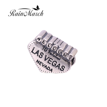 Fit Pandora bracelets Las Vegas Nevada Beads Original 925 sterling silver charms DIY Jewelry Making(China)