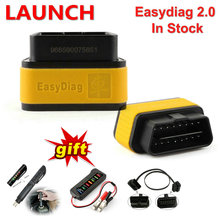 Launch easydiag 2.0 Professional Car Automotive Scanner Auto Code Reader OBD2 Scanner Diagnostic Tool Free Internet Update