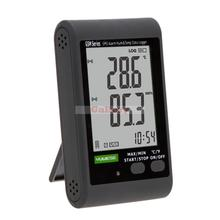 Gsm Lcd Digital Temperature Meter Humidity Data Recording Logger Thermometer Hygrometer Sms Alarm Pc Connecting Termometro