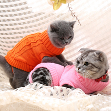 [MPK 10 Years] SWA Cat Sweater, Sweater for Cats And Small Dogs, Cat Clothing, 9 Choices Of Colors + 6 Sizes For Each Color(China)