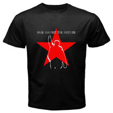 Newest Popular Men'S Rage Against The Machine Ratm *Star Logo  Design T Shirt Novelty Tops Customize Printed Short Sleeve Tees