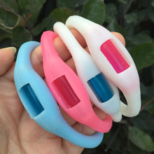 1PCS Mosquito Killer Natural Repellent Outdoor Indoor Use Mosquito Bracelet Repellent Wrist Blue Pink White