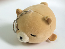 Super CUTE Plumpy Fat Bear 13*7CM Approx. Key Chain Decor Stuffed Plush Bear Toy , Gift keychain Plush Toys Doll