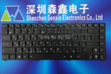 100% brand new and original RU Russian keyboard for ASUS Eee PC 1225C 1225B 1215B 1215T 1215N UL20 1201HA U24E black(China)