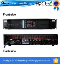 [On Promotion] Vacuum Tube Amlifier Fp20000q at 4X2200watts Karaoke Mixer Amplifier with Three Years Warranty
