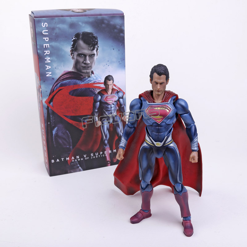 Crazy Toys Batman v Superman Dawn of Justice Superman PVC Action Figure Collectible Toy 10 25cm<br>