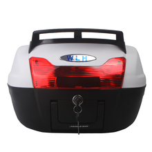 WLH 40L E60 motorcycle tail box electric bicycle trunk scooter top case