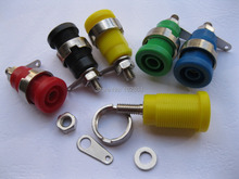 4mm Binding Post Banana Jack for 4mm Safety protection Plug 5 color SL2074 Brand New Hot Sale 10 Pcs Per Lot