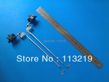Genuine wholesale Price For Dell N4050 M4050 Notebook Lcd Screen Hinges Kit 100% New (10 pairs/Lot)(China)