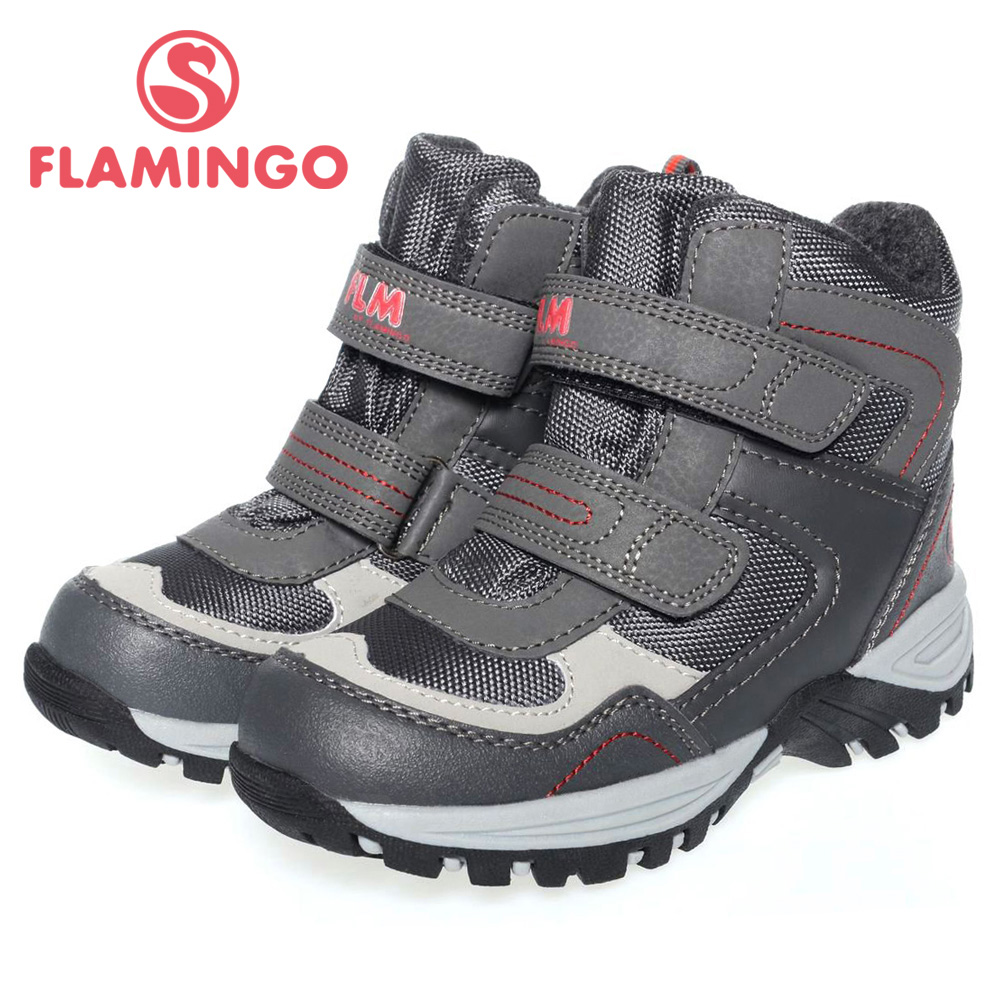FLAMINGO high quality fashion winter childrens shoes for boy 2015 new collection anti-slip waterproof snow boots 52-GC502<br><br>Aliexpress