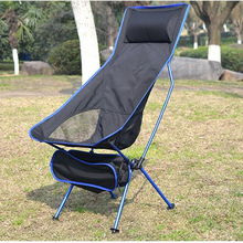 Chair Fishing Extended Bbq-Stool Hiking-Seat Folding Ultralight Home-Furniture Office