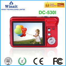 "Hot Sale Compact Used Camera DC-530I 18megapixels 3.0MP CMOS 2.7"" 720P HD Digital Camera Video Recorder Face&Smile Detection"