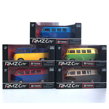 5pcs/lot  1/36 Scale Car Toys Volkswagen T1 Transports Bus Limited Version Diecast Metal Car Model Toy New In Box