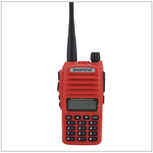 Portable Baofeng Radio UV-82 Walkie Talkie Color Red Dual Band VHF/ UHF Ham Radio Transceiver Baofeng UV82 w/Free Earpiece