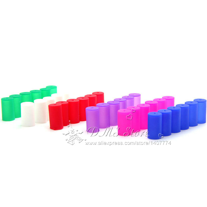 E-XY Vapes Disposable Cap E Cig Silicone Test Drip Tips Cover colorful Mouthpiece Dust Proof Caps Ego CE4 CE5 CE6 MT3 Tank