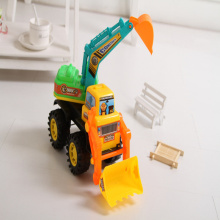 The new King of inertia digging machine construction vehicles Cars toy factory direct selling
