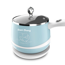 220V 300w/600w 1.5L Blue/Pink 304 stainless steel Multi-function electric pot+stainless steel Steamer Double heat insulation
