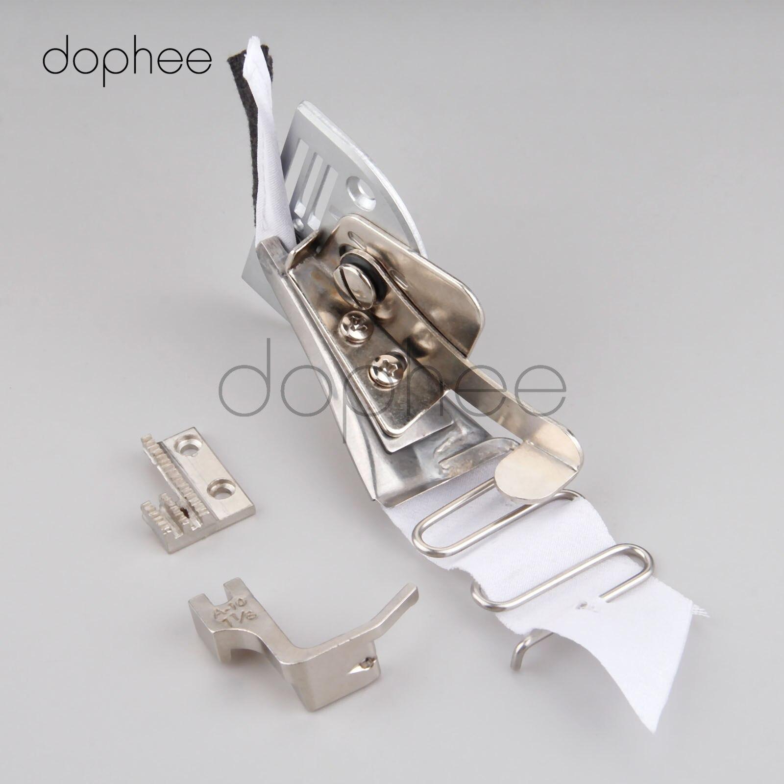 INDUSTRIELLE machine à coudre Pied presseur élastique tissus Overlock outil composants