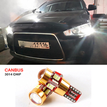 Canbus W5W LED T10 Wedge Light Parking Light For Honda Civic Crv Accord Fit Dio Jazz City Cbr Hornet Crf Stream GX35 S2000 Pilot