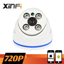 Buy XINFI HD 720P Outdoor Waterproof network CCTV IP camera Surveillance Camera 1.0 MP P2P ONVIF 2.0 PC&Phone remote view for $32.00 in AliExpress store