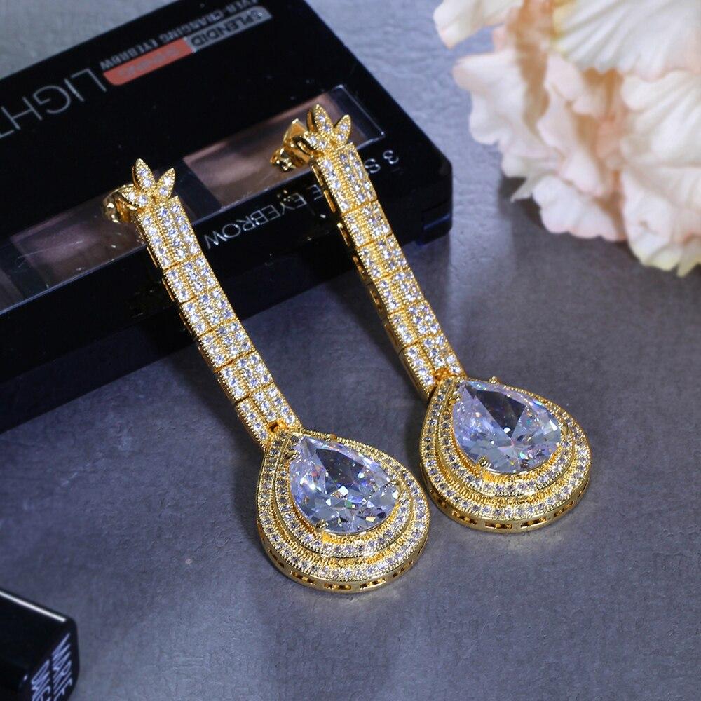 big water drop stone earrings (17)
