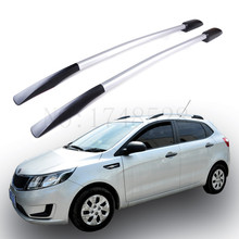 Automobile modeling Refitting the roof rack of aluminum alloy luggage rack for Kia K2 Auto parts 1.8M(China)