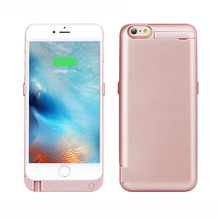 10000mAh portable Rechargeable Backup External Battery Pack Charger Power Bank Case stand Cover for iphone 6 6s 4.7 inch