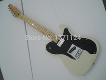 . Free shipping High Quality Rice white color tele guitar sell to Ameican standard telecaster electric Guitar in stock